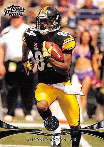 2012 Pittsburgh Steelers Super Bowl - Antonio Brown football card (Pittsburgh Steelers Super Bowl Champion) 2012 Topps Prime #72