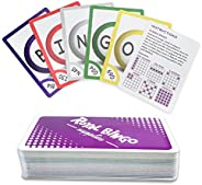 Royal Bingo Supplies Pack of 81 Bingo Calling Cards - Pocket-Sized, Easy-Read 3.5 inch x 2.5 inch Poker Wide-S