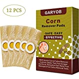GARYOB Corn Remover Pads One Step 12 Medicated Pads Foot Callus Remover Cushions Plaster with Hole