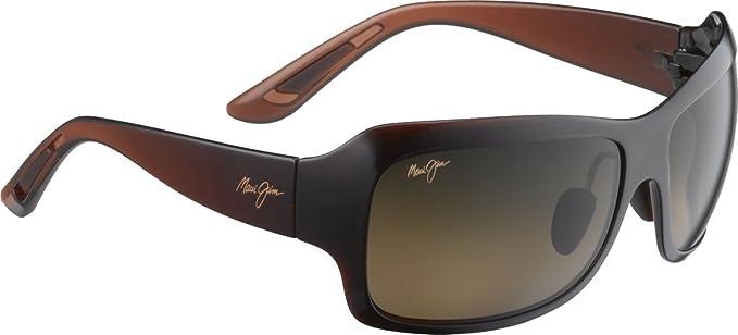 Maui Jim HS418-26B MPBG Rootbeer fade Seven Pools Sunglasses Polarised Lens Category 2 g88TZ