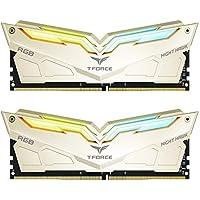 Team T-Force Night Hawk Legend RGB 16GB (2 x 8GB) PC4-25600 3200MHz DDR4 288-Pin DIMM Desktop Memory