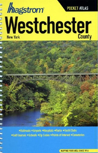 Hagstrom Westchester, New York County Pocket Atlas (Hagstrom Pocket Atlas)
