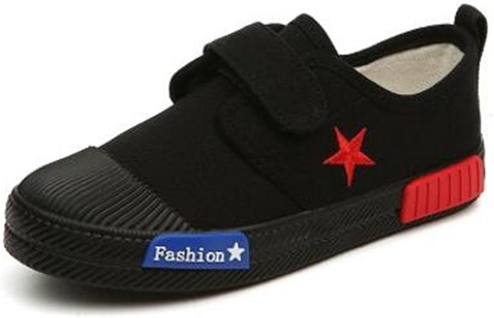 Boys Girls Canvas Light Weight Slip-On Sneakers Running Shoe