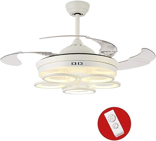 MEIEI Luz del ventilador de techo invisible, luz del ventilador ...