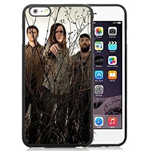 Beautiful Designed Cover Case With Underoath Field Sky Grass Band For iPhone 6 Plus 5.5 Inch Phone Case
