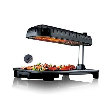 Olydmsky Teppanyaki eléctrico Top de mesa, parrilla ...