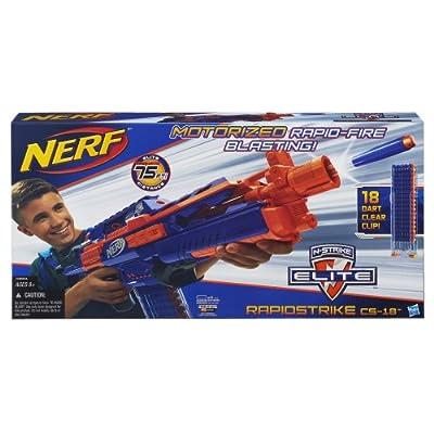 Nerf N-Strike Elite Rapidstrike CS-18 Blaster (Colors may vary): Toys & Games