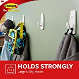 Command Utility Hooks, 3 hooks, 6 strips, Indoor