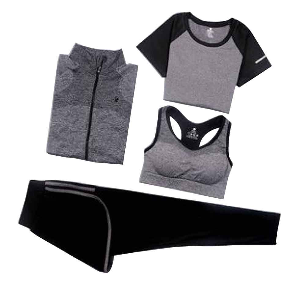 Sport Suit for Women Quick Drying Clothing for Ladies Yoga Clothing [D]