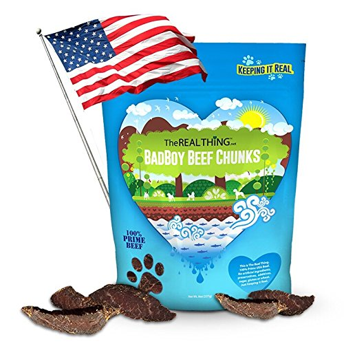 Healthy & Natural Dog Treats. Jerky for Small, Medium & Large Pets. Food That Helps Overweight & Obese Canines. Training is Easy and Safe. Made in the - Designer Biggest Brands