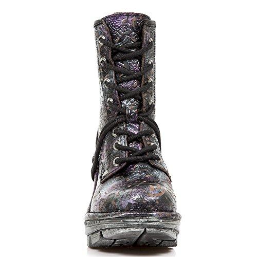 New Rock M Neotr008 S4, Women's Boots Purple (Vintage Flower Lila/Ribete Itali)
