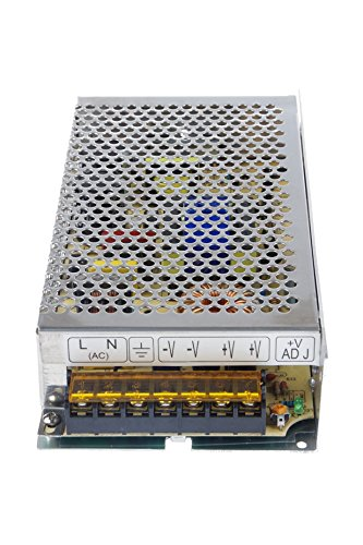 LM YN 110V/220V AC to DC 24V 5A 120W Switching Power Supply Driver,Power Transformer for CCTV camera, Security System, LED Strip Light, Radio, Computer Project by LM YN (Image #6)