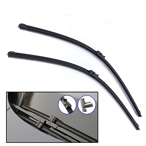 CoCocina Front Specific Side Pin Wiper Blades for 06-07 CITROEN Xsara Picasso