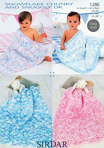 Sirdar Snowflake Chunky And Snuggly Dk Knitting Pattern 1286 Amazon