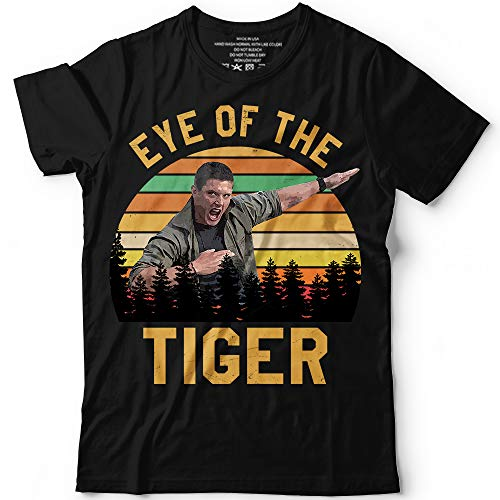 Tigers Fan Series - Dean Meme Eye-Of-The-Tiger TV Series Big Fans Customized Handmade T-Shirt Hoodie/Long Sleeve/Tank Top/Sweatshirt