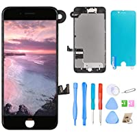 Srinea Screen Replacement for iPhone 7 Plus 5.5'' Black,...