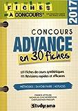 Concours advance en 30 fiches