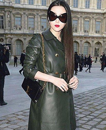 Polarisées Mode Retro Pour Transparente Design Femmes Vintage Lunettes Verres Vertes De Monture Soleil 54wxpwIHq