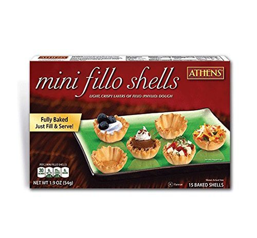 Athens Mini Fillo Dough Shells