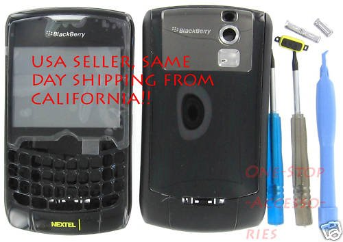 Sprint Nextel Curve - Sprint/Nextel BlackBerry 8350i Curve Original Full Housing Case+Tool Kit