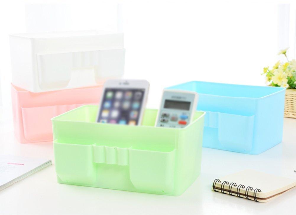 nikgic Caja Cosm/ética Caja archivador de escritorio Almacenamiento Caja para almacenar juguetes schreibwaren