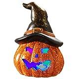 "National Tree Jack-O-Lantern Décor, 7"", Orange"