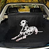Garden mile® Auto Rear Seat Car Boot Protector Cover, Waterproof Hammock Seat Cover for Pets, Travel Car Seat Cover, Heavy Duty & Waterproof with Side flaps 155 x 104 x 33 Black