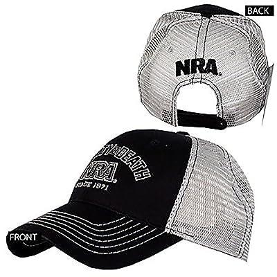 Cyberteez NRA National Rifle Association Liberty Or Death Logo Adjustable Snapback Hat Cap