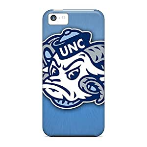 For NikRun Iphone Protective Case, High Quality For Iphone 5c Carolina Skin Case Cover