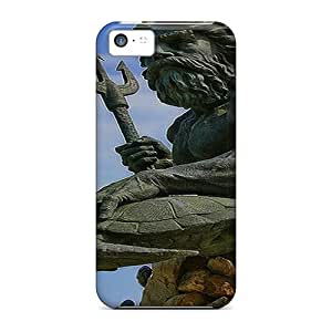 Durable Case For The Iphone 5c- Eco-friendly Retail Packaging(king Neptune) by icecream design