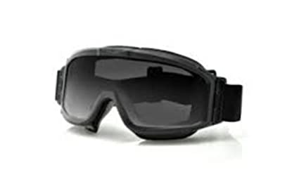 074431dd1f Image Unavailable. Image not available for. Color  Bobster Alpha  Interchangeable Ballistic Goggles - Black Frame