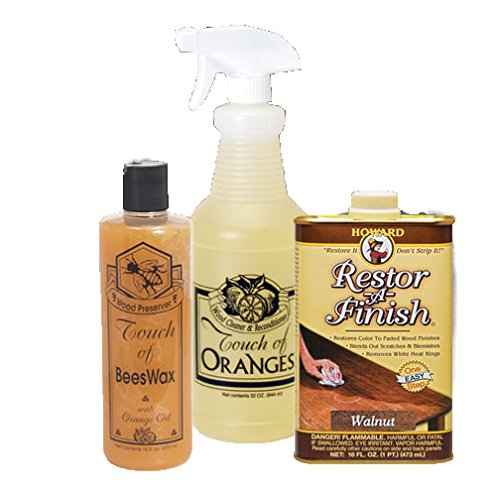 Complete Wood Restoration Kit, Restore Wood Finish, Clean ...