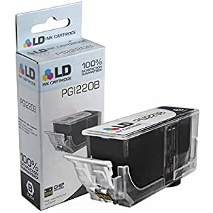LD © Compatible Replacement for Canon PGI220 (2945B001) Black Inkjet Cartridge for use in Canon PIXMA MP620, iP3600, MP640, MP990, MX860, MP980, MP560, iP4700, MP620B, iP4600, & MX870 Printers