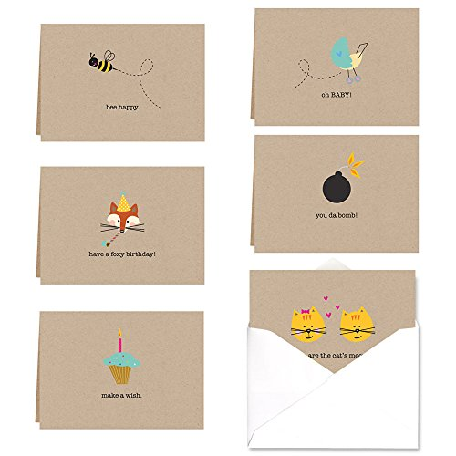 Whimsical Note Card Assortment Pack product image