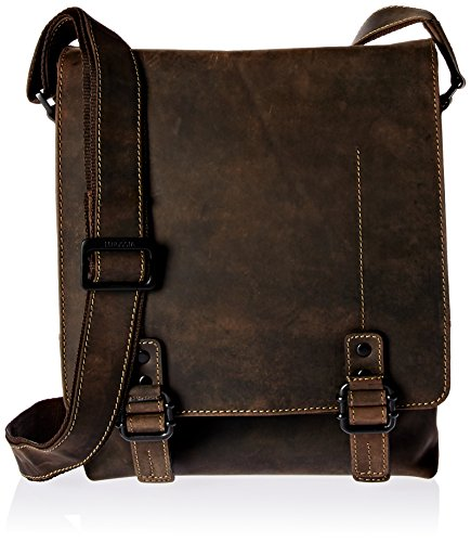 Visconti 16094 Cross Body Bag, Oil Brown,