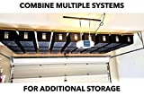 Overhead Garage Storage Rack - Organize Up to 13