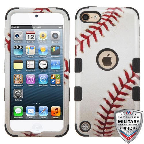 iPod Touch 5th 6th Generation Baseball Sports Collection TUFF Hybrid Case (Ipod 5 Cases Made By Mybat)