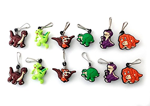 Land Chomper Costume Time Before (AVIRGO 12 pcs Zipper Pull Charms Set # 37-2 by)
