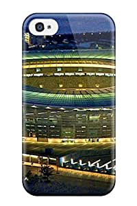 New Tpu Hard Case Premium Iphone 4/4s Skin Case Cover(world Cup 2014 Stadiums)