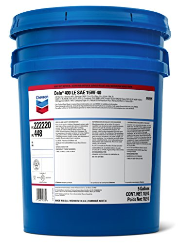 Delo 400 SDE SAE 15W-40 Motor Oil - 5 Gallon Pail by Delo