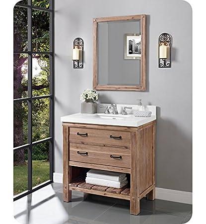 "Fairmont Designs 1507-VH36 Napa 36"" Open Shelf Vanity - Sonoma Sand"