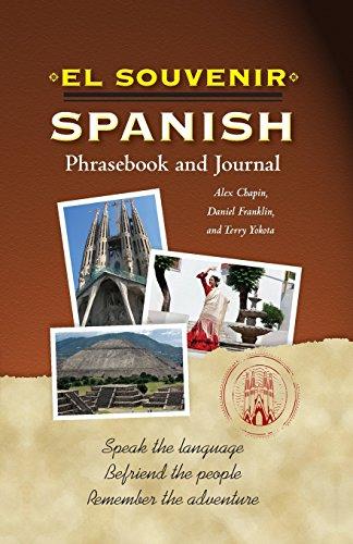 El Souvenir Spanish Phrasebook and Journal