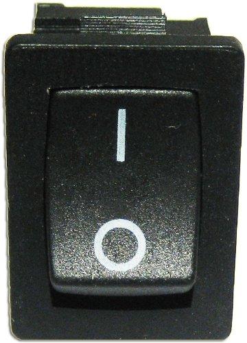 5 Mini-Wippenschalter 1-polig EIN/AUS ECKIG: Amazon.de: Elektronik