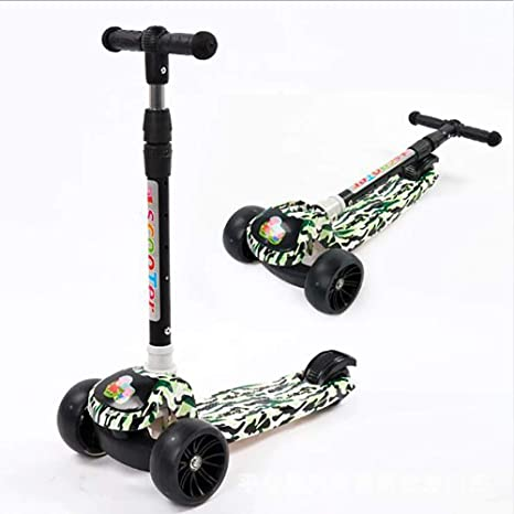 GAOJIN Mini Patinete Plegable, Patinete Scooter para Niños ...