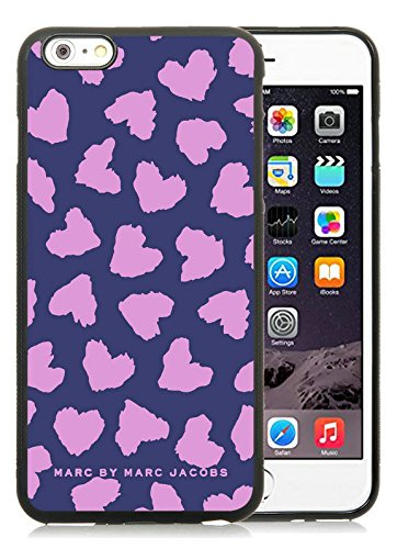 Iphone 6 Plus Cases Custom Design Marc by Marc Jacobs 21 Cell Phone Tpu Cover Case for Iphone 6 Plus 5.5 Inch Black