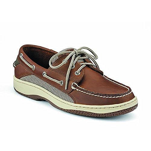 Shoe 3 Eye Boat - Sperry Men's Billfish 3-Eye Boat Shoe, Dark Tan, 11 M US