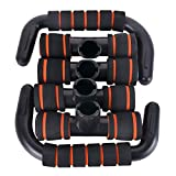 Push Up Bars with Anti-slip Foam Ergonomic Handles, Pushup Chest Bar Stand for Gym Exercise Workout Training Trainer Sport Equipment - Ideal for All Range People