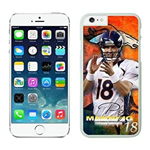 NFL Denver Broncos manning iPhone 6 Plus Case 2 White 5.5 Inches NFLIphone6PlusCases12716