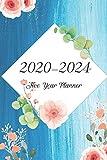 2020-2024 Five Year Planner: Bluesky Oilcolor