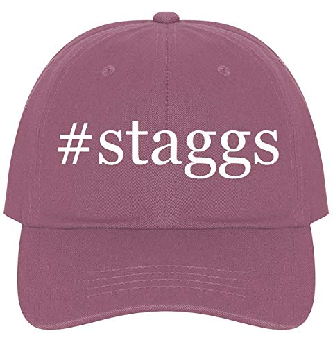 The Town Butler #Staggs - A Nice Comfortable Adjustable Hashtag Dad Hat Cap, Pink